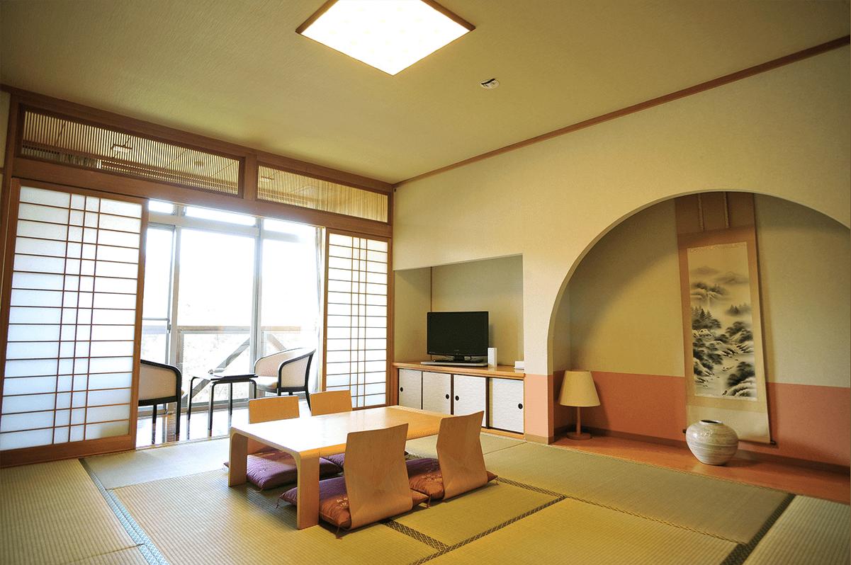 和室10畳(部屋風呂なし)